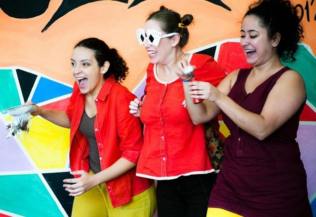 Grupo de teatro Pé de Moleque em Guaratinguetá